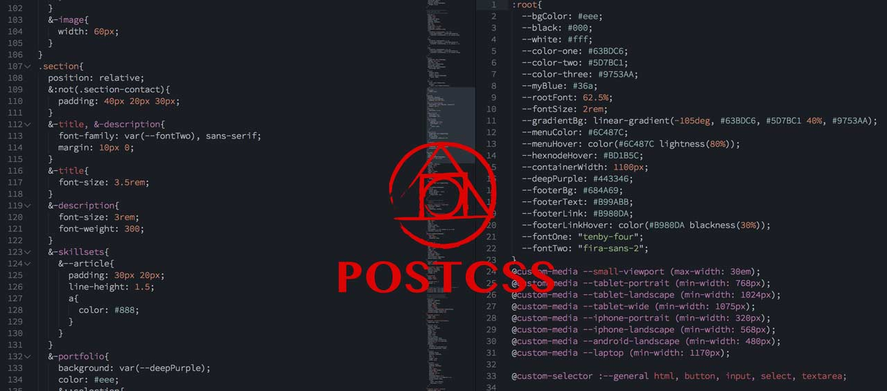 Writing CSS of the future: PostCSS