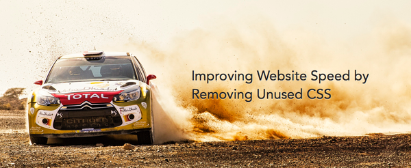 Improving Website Speed by Removing Unused CSS